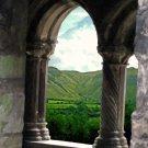 Sligo Abbey with Glencar  8x10 print