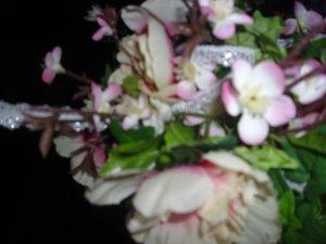 Beautiful Silk Flowers kissing ball!!!