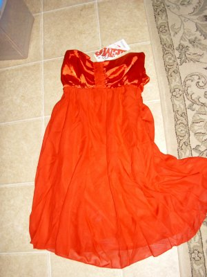 NWT RED MINI CHRISTMAS COCKTAIL DRESS!!
