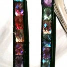 MULTI COLOR CRYSTAL EARRINGS (NEW)