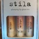 Stila Plumping Lip Glaze Trio Set ~ Lip Gloss Set ~ NIB