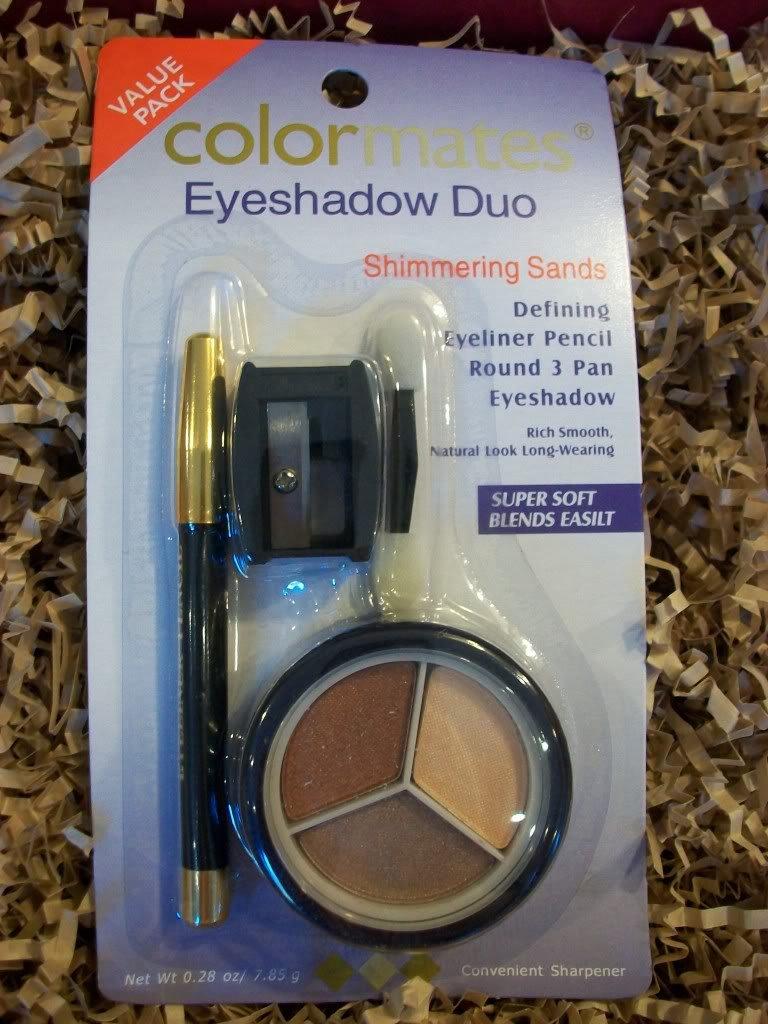Colormates Eyeshadow Duo + Eyeliner ~ Shimmering Sands