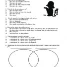 Fire Investigator Versus Fireman Fire Week Research Questions and Venn-Diagram with Answer Key PDF