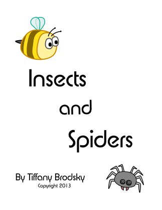 Insects and Spiders: A Science Comprehension Check with Answer Key, PDF