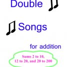 Math: Doubles Addition Songs PDF