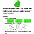 Absolute Value and Inequalities Jump Frog Game PDF