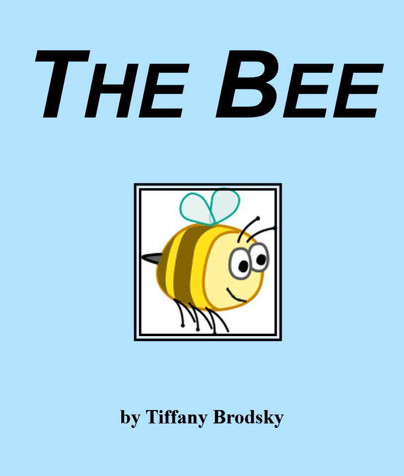 The Bee Sight Word E-Book in PDF