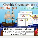 Pete the Cat The First Thanksgiving Graphic Organizers PDF