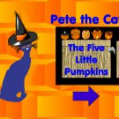 Pete the Cat Five Little Pumpkins Interactive Game PDF