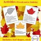 We are Thankful! Thanksgiving Leaf Writing Activities PDF