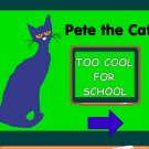 Pete the Cat Too Cool For School Interactive Vocabulary Game PDF - 160 pages
