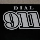 Dial 911 Decal White