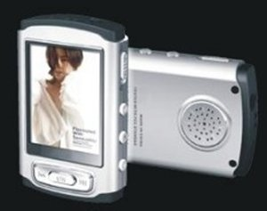 MP4 player 4GB, 1.8 inch screen, password setting