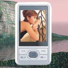 MP4 Player 4GB, 1.8-inch LCD, Ultra-thin Design, Metal Shell