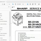 Sharp MX-2314N 2614N 3114N Service Manual