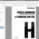Toshiba e-STUDIO 160, e-STUDIO 200, e-STUDIO 250 Service Handbook