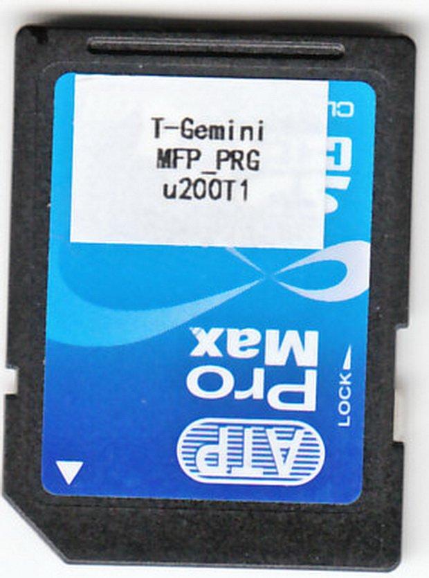 Sharp DX-2500N Flash Rom / SD Card (MFPC PRG)