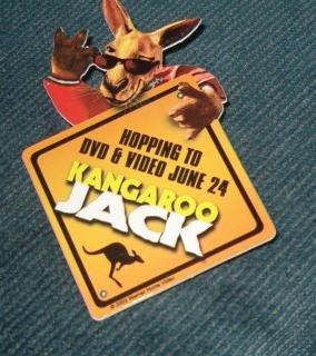Kangaroo Jack DVD / Video Release Promo Pin Includes Shipping