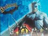 Batman Begins Black Trim / Blue Bi Fold Wallet