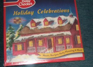 Betty Crocker Holiday Celebrations Christmas CD Sealed Includes Shipping