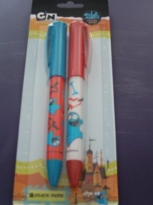 Foster's Home Imaginary Friends Bloo Click Pens 2-Pack