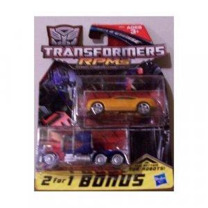 Transformers RPMs Bumblebee & Optimus Prime Vehicles