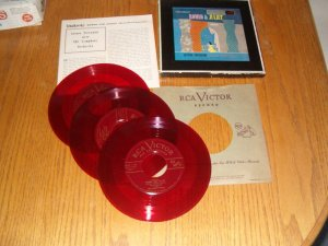 RCA Victor Red Seal Romeo Juliet Toscanini Box Set Inc Shipping