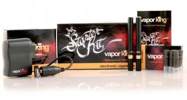 Black Vapor King Double Starter Kit