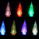 Christmas tree decoration christmas light