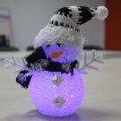 Romantic Christmas night light snow sticks hand Snowman LED Lights Christmas Lights Colorful