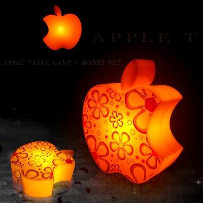 Best selling lovely apple shape led light