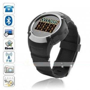 Beautiful 1.33 Inch Touchscreen Watch Phone (MP3, MP4, Camera)--MQ222