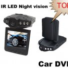 "2.5""Color LCD 270 degre 6 IR LED HD h198 Car DVR Camera Recorder"