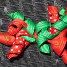 Baby/Child Pair of Chistmas Korker Barrettes