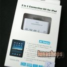 5 in 1 Camera AV Connection Card Reader TF KIT For iPad