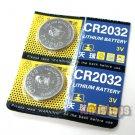 2pcs CR-2032 3V Lithium CR2032 Cell Button Coin Battery