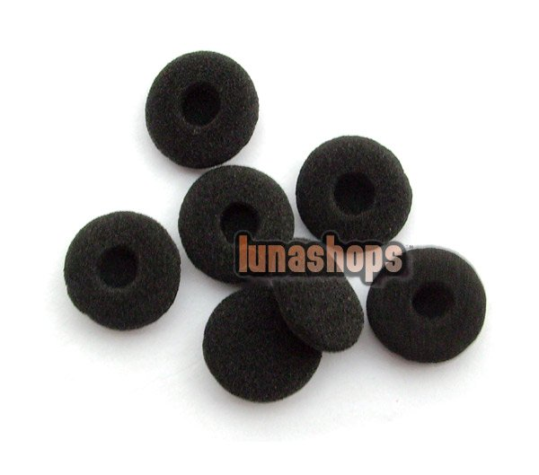 3 Pairs Universal Ear Pad Foam Earbud Tips Cover For Earphone