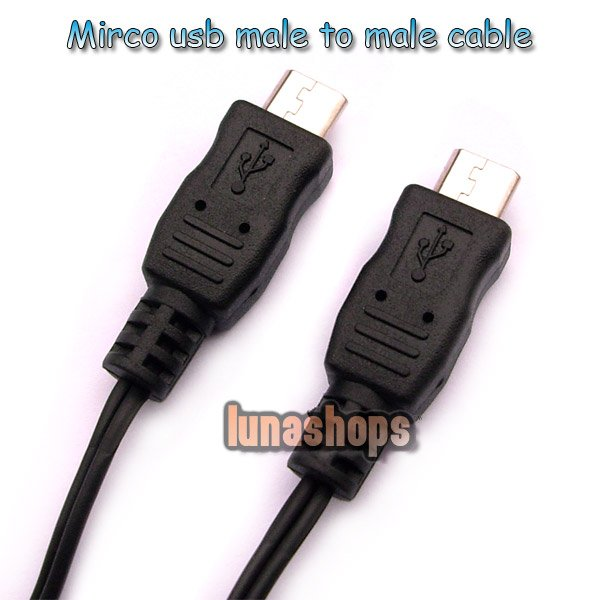 Micro usb Male to Male Mini Small OTG Cable Adapter For MHL Mobilephone