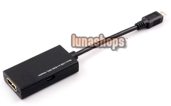 MHL Micro USB Male to HDMI Female Adapter Cable For HTC Flyer Galaxy S2 i9000