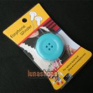 1pcs Headphone Earphone Wire Cable Cord Leadc lasp Wrapper Winder For iphone etc
