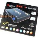 Manytel X50 Plus 1080P Full HD HDMI WIFI RJ45 Coaxial TV set Top Box Media Play