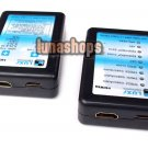 Standard Or Mini HDMI Male Cable Tester Adapter Box Set Kit