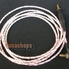 1.1m 100% handmade Silver Plated AKG K450 Q460 K480 upgrade cable Hifi