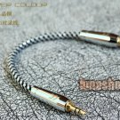 Copper Colour CC Ocs 3.5mm male to male Hifi Audio cable for HifiMan AMP DAC etc