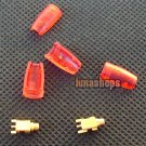 Repair Parts for Shure SE535 SE425 SE315 SE215 Earphone Pins + Cover RED Color