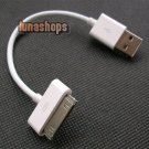 Short iPod Nano Touch iPhone 3G USB Data Sync Charger Cable