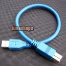 30cm USB 3.0 Type A/B male Super-speed cable for printer scanner modem cable