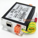 2 in 1 Rj45 Female Power Security Surge Protector Thunder Arrester Adapter klwl-