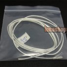 100cm Clear Skin Double Pins ND Aoding Top-rated Silver Plated + shield Cable