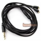 1.2m OFC Handmade Cable For Shure upgrade SE535 SE425 UE900 earphone Shockproof